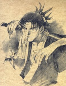 Rating: Safe Score: 5 Tags: blade_of_the_immortal male monochrome samura_hiroaki User: Radioactive