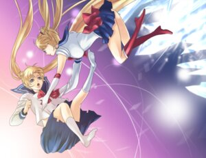 Rating: Safe Score: 10 Tags: heels peony sailor_moon seifuku tsukino_usagi User: minakomel