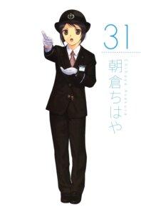 Rating: Safe Score: 2 Tags: asakura_chihaya detexted mibu_natsuki tetsudou_musume uniform User: Radioactive