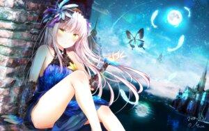 Rating: Safe Score: 77 Tags: bang_dream! dress masa_(mirage77) minato_yukina wallpaper User: Mr_GT
