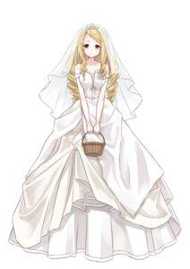 Rating: Safe Score: 18 Tags: azure0608 dress majo_no_tabitabi wedding_dress User: saemonnokami