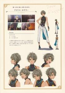 Rating: Safe Score: 7 Tags: character_design heels iris_cannary takase_akiko violet_evergarden User: tuyenoaminhnhan