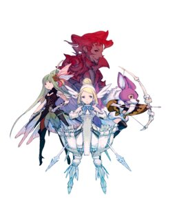Rating: Safe Score: 24 Tags: animal_ears armor artemia_venus bravely_default einheria_venus fiore_derosa mephilia_venus red_mage square_enix wings yoshida_akihiko User: Radioactive