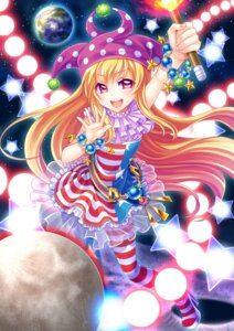 Rating: Safe Score: 26 Tags: clownpiece dress heels pantyhose soraeda touhou User: Mr_GT