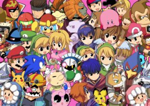 Rating: Safe Score: 26 Tags: bowser captain_falcon diddy_kong donkey_kong donkey_kong_(character) falco_lombardi fire_emblem fox_mccloud f-zero game_and_watch ganondorf ice_climber ice_climbers ike jigglypuff king_dedede kirby kirby_(character) link lucario lucas luigi mario mario_bros. marth meta_knight metal_gear metroid mewtwo mother mr._game_and_watch nana_(ice_climber) ness olimar pichu pikachu pikmin pit pokemon pokemon_trainer popo princess_peach_toadstool princess_zelda r.o.b roy samus_aran sheik solid_snake sonic sonic_(character) squirtle star_fox super_smash_bros. tagme the_legend_of_zelda wario wolf_o'donnell yoshi User: konstargirl