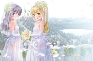 Rating: Questionable Score: 46 Tags: dress loli pantsu stockings thighhighs wedding_dress yuuro User: blooregardo