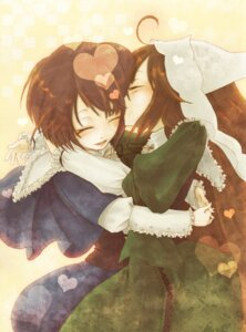 Rating: Safe Score: 8 Tags: onohana rozen_maiden souseiseki suiseiseki User: minakomel