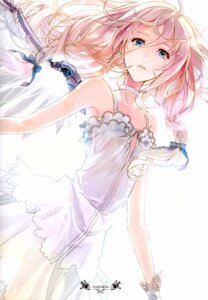 Rating: Safe Score: 44 Tags: dress ia_(vocaloid) no_bra rahwia summer_dress vocaloid wings User: WhiteExecutor