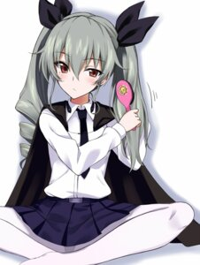 Rating: Safe Score: 45 Tags: anchovy girls_und_panzer kyou_(kurifuto) pantsu pantyhose uniform User: nphuongsun93