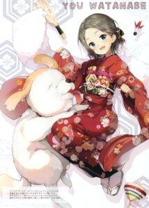 Rating: Safe Score: 21 Tags: kimono love_live!_sunshine!! senji tegone_spike watanabe_you User: kiyoe