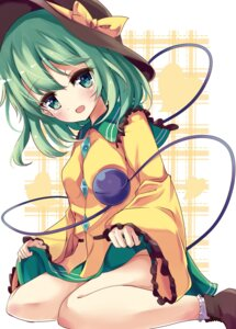 Rating: Safe Score: 34 Tags: komeiji_koishi skirt_lift soramuko touhou User: Mr_GT
