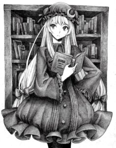 Rating: Safe Score: 18 Tags: monochrome nobita patchouli_knowledge touhou User: Radioactive