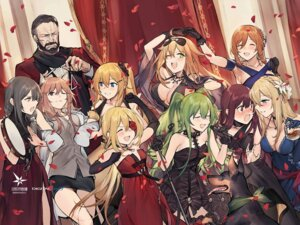 Rating: Safe Score: 63 Tags: cleavage dress duoyuanjun eyepatch girls_frontline kruge_(girls_frontline) m1918_(girls_frontline) m950a_(girls_frontline) megane no_bra skorpion_(girls_frontline) springfield_(girls_frontline) wa2000_(girls_frontline) User: onisora