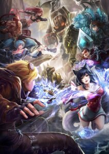 Rating: Safe Score: 23 Tags: ahri animal_ears armor cleavage dress ezreal goomrrat katarina_du_couteau league_of_legends lee_sin megane nasus nautilus renekton shauna_vayne sona_buvelle tail taric User: charunetra
