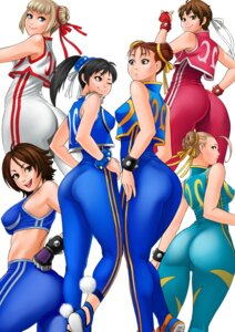 Rating: Safe Score: 14 Tags: cammy_white capcom chun_li emilie_de_rochefort kasugano_sakura kazama_asuka ling_xiaoyu namco solid_air street_fighter tekken User: cochoman