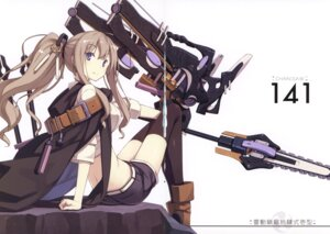 Rating: Safe Score: 30 Tags: asahiage chainsaw crease fixme mecha_musume poco thighhighs User: fireattack