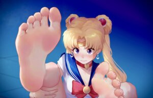 Rating: Safe Score: 36 Tags: cleavage feet ice_(ice_aptx) sailor_moon seifuku tsukino_usagi User: Mr_GT