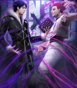 Rating: Safe Score: 11 Tags: chrollo_lucilfer h.a hisoka hunter_x_hunter male User: mash