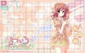 Rating: Safe Score: 12 Tags: dress hinata_mutsuki matsuoka_kanade skyfish wallpaper yotsuiro_passionato! User: jack09335