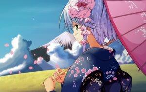 Rating: Safe Score: 29 Tags: etude kimono mizumori_minami soshite_ashita_no_sekai_yori ueda_ryou User: petopeto