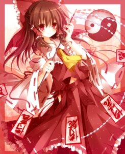 Rating: Safe Score: 30 Tags: hakurei_reimu miko mog_(artist) touhou User: 椎名深夏