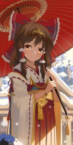 Rating: Safe Score: 45 Tags: hakurei_reimu miko touhou umbrella yunsang User: nphuongsun93