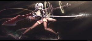 Rating: Questionable Score: 53 Tags: cleavage dk_senie heels nier_automata pantsu sword thighhighs yorha_no.2_type_b User: Mr_GT