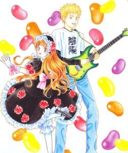 Rating: Safe Score: 2 Tags: bloomers guitar ikeda_kazuma kare_kano kareshi_kanojo_no_jijou shibahime_tsubasa tsuda_masami User: Radioactive