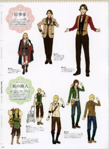 Rating: Safe Score: 3 Tags: atelier atelier_ayesha character_design ernie_lyttelton harry_olson hidari User: Shuumatsu