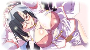 Rating: Questionable Score: 34 Tags: blazblue cleavage litchi_faye_ling megane User: blooregardo