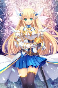 Rating: Safe Score: 38 Tags: armor capura.l sword thighhighs User: blooregardo