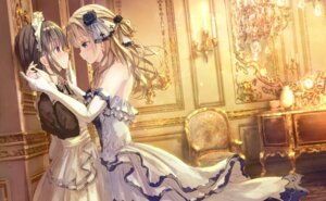 Rating: Safe Score: 41 Tags: apple228 dress maid symmetrical_docking yuri User: Mr_GT