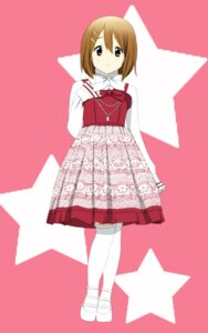 Rating: Safe Score: 12 Tags: hirasawa_yui k-on! thighhighs yuyui User: Radioactive