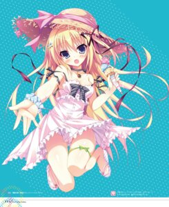 Rating: Safe Score: 61 Tags: cleavage dress garter hangyaku_no_dreadnought shiromochi_sakura summer_dress User: Twinsenzw