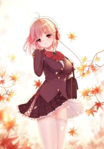 Rating: Safe Score: 34 Tags: headphones laoan seifuku skirt_lift stockings thighhighs zhanjianshaonv User: Mr_GT