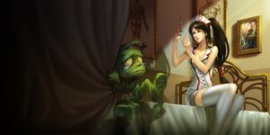 Rating: Safe Score: 15 Tags: cleavage league_of_legends nurse tagme thighhighs User: Radioactive