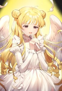 Rating: Safe Score: 18 Tags: azit_(down) dress full_moon_wo_sagashite wings User: Mr_GT