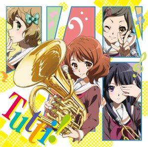 Rating: Safe Score: 21 Tags: disc_cover hibike!_euphonium ikeda_shouko katou_hazuki kawashima_sapphire kousaka_reina oumae_kumiko seifuku User: saemonnokami