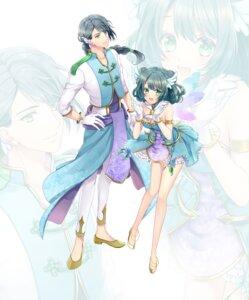 Rating: Safe Score: 13 Tags: asian_clothes cleavage heels kurabayashi_matoni User: animeprincess