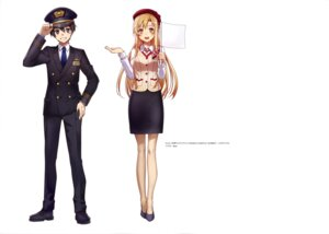 Rating: Safe Score: 16 Tags: abec sword_art_online uniform User: drop