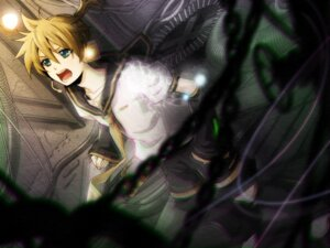 Rating: Safe Score: 9 Tags: hima_(ab_gata) kagamine_len male vocaloid wallpaper User: charunetra