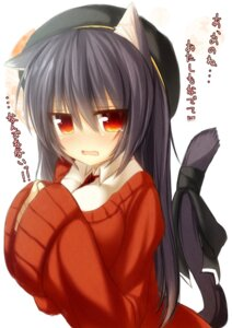 Rating: Safe Score: 24 Tags: animal_ears mia_flatpaddy nekomimi syroh tail User: fairyren