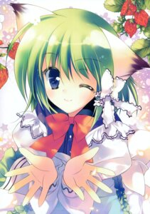 Rating: Safe Score: 12 Tags: animal_ears greenwood midori nekomimi rei User: midzki
