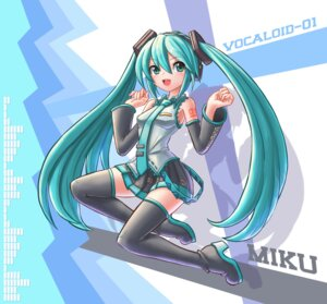 Rating: Safe Score: 14 Tags: hatsune_miku headphones heels ranken tattoo thighhighs vocaloid User: Mr_GT