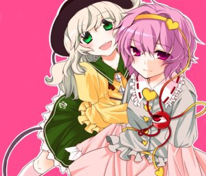 Rating: Safe Score: 7 Tags: komeiji_koishi komeiji_satori n-mix touhou User: konstargirl