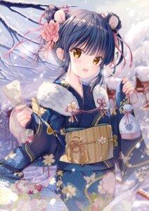Rating: Questionable Score: 39 Tags: animal_ears kimono kodama_haruka twinbox twinbox_(circle) twinbox_school User: kiyoe