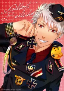 Rating: Safe Score: 4 Tags: hetalia_axis_powers male prussia tagme uniform User: charunetra