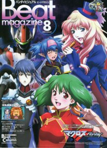 Rating: Safe Score: 7 Tags: bleed_through chinadress fixme kimura_masahiro klan_klein macross macross_frontier ranka_lee saotome_alto sheryl_nome vf_valkyrie User: reiserFS