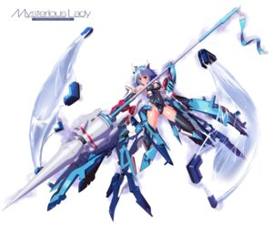 Rating: Safe Score: 27 Tags: bodysuit infinite_stratos mecha_musume nenchi sarashiki_tatenashi thighhighs User: Radioactive