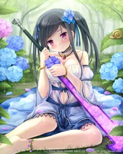 Rating: Safe Score: 80 Tags: cleavage lost_crusade namaru see_through sword wet_clothes User: blooregardo